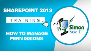 how to manage permissions in sharepoint 2013 youtube