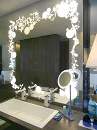 Bathroom Mirror Design Ideas Bathroom The Most Lighted Bathroom Mirror Better Home Design With