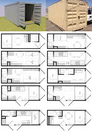 20 foot shipping container floor plan brainstorm tiny house living