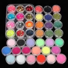 amazon com 42 acrylic powder liquid brush glitter clipper primer
