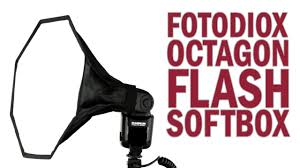 octagon flash softbox from fotodiox pro a miniature softbox for