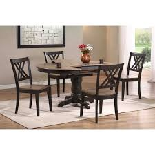 Round Dining Table Sets For 6 Iconic Furniture 5 Piece Oval Dining Table Set Gray Stone