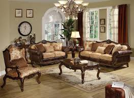 living room brown leather upholstery sofa set ottoman with white