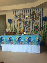 Finding Nemo Centerpieces by Diys Finding Dory Birthday Party Ideas Birthday Party Ideas
