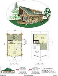 Log Cabin With Loft Floor Plans 64 Best Floor Plans Images On Pinterest Floor Plans Log Homes