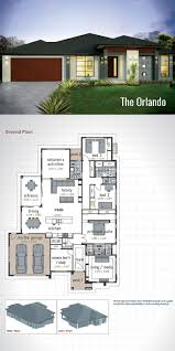 Floor Plans For One Level Homes by Best 25 Single Storey House Plans Ideas On Pinterest Sims 4