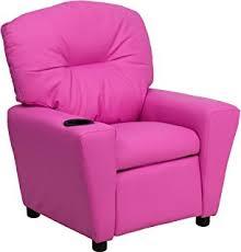 amazon com homcom kids pu leather riveted sofa recliner chair