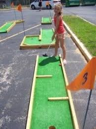 Backyard Golf Hole by Diy Mini Golf Obstacles Crafts Diy Pinterest Golf Minis And
