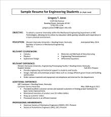 Best Resume Formats For Engineering Students by College Student Resume Sample Interesting Inspiration Internship