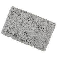 Shower Bath 1600 Microfibre Bathroom Shower Bath Mat Rug Non Slip Backing 12 Colours