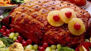 honey baked ham thanksgiving dinner best baked ham recipe with honey and balsamic vinegar glaze must