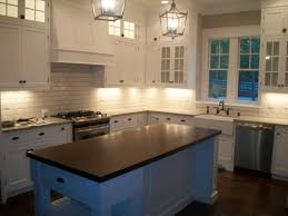 Remodeled Kitchens With White Cabinets by Shade Of White Subway Tile Backsplash With White Cabinets