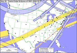 Washington Dc Usa Map by Total Solar Eclipses In The Usa Earth Earthsky