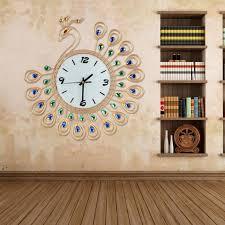 decorative wall clocks with pendulum grey large wall clock