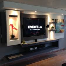 Latest Tv Cabinet Design Tv In Wall Made With Gypsum Board Family Rooms Pinterest Tvs