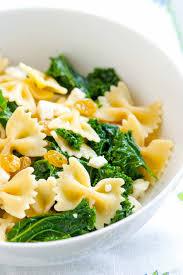 Pasta Recipes Brown Butter Kale Pasta Recipe