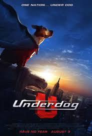 Underdog, chien volant non identifié affiche
