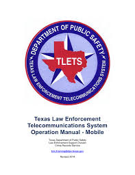 tlets operating manual mobile texas department of public safety
