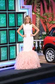 Clothes Like Johnny Was Vanna White U0027s Wheel Of Fortune Dresses And Beauty Secrets