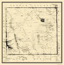 Map Az Old County Map Cochise Arizona 1890