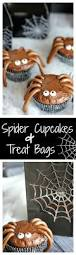 Easy Treats For Halloween Party by Best 25 Spider Cupcakes Ideas On Pinterest Spooky Treats