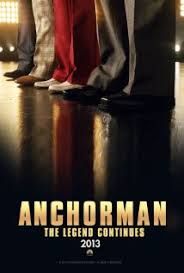 Anchorman 2 shooting now