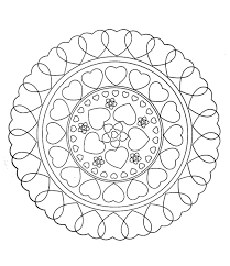 simple mandala 14 mandalas coloring pages for kids to print u0026 color