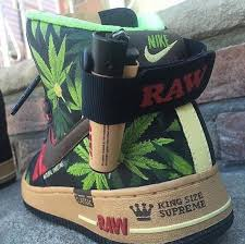 RAW Nike Air Force Ones Green Rush Daily