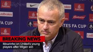 Manchester United hire new scout to discover Eastern European     Video thumbnail  Mourinho on United     s young talent after Wigan win