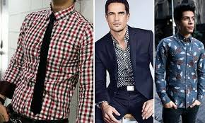 The problem with solid shirts  even ones with colours other than white or blue  is that they are boring  The kind of things that Nice Guys stick to