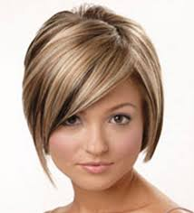 medium length straight hairstyles for round faces