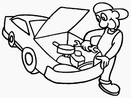 coloring pages of tools mechanics coloring pages getcoloringpages com