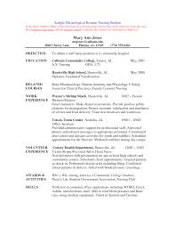 Resume Pattern For Job Application by Cover Letters For Nursing Job Application Pdf Nursing