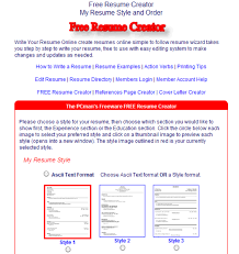Free Online Resume Help by 10 Free Online Tools To Create Professional Resume