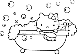 kitty valentine coloring sanrio coloring pages
