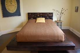 Diy Platform Bed Frame Designs by Bed Frames Diy Platform Bed Plans King Size Bed Frame With