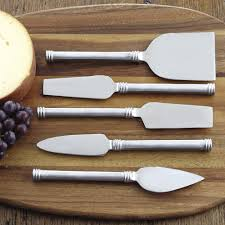 Target Kitchen Knives Amazon Com Rsvp Endruance Stainless Steel Cheese Knife Set