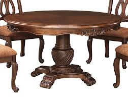 buy ashley furniture north shore round dining room pedestal table