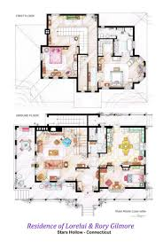 Multiple Family House Plans Tv Floorplans How The Apartments In Your Favourite Shows Are