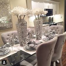 Best  Glass Dining Room Table Ideas On Pinterest Glass Dining - Decor for dining room table