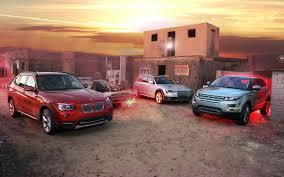 lexus nx300h vs bmw x1 2013 audi allroad vs 2013 bmw x1 vs 2012 range rover evoque