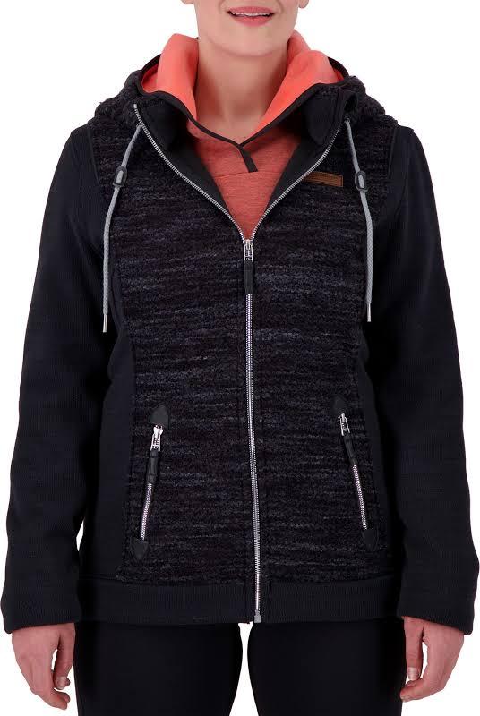 Obermeyer Ella Fleece Jacket Black Small 17036-BLACK-S