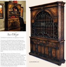 old world dining room furniture grand obispo hutch