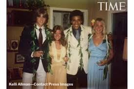 From left: Greg Orme, Kelli Allman, Barack Obama and Megan Hughes at