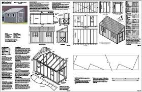 Free Saltbox Wood Shed Plans by 6 X 8 Shed Plans Free Straightforward Ways On The Way To Control