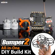 storm racing drone diy kit bumper 2 helipal