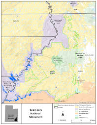 Map Of Utah And Colorado by National Monument Map2 Bureau Of Land Management