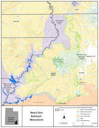 Antelope Canyon Arizona Map by National Monument Map2 Bureau Of Land Management