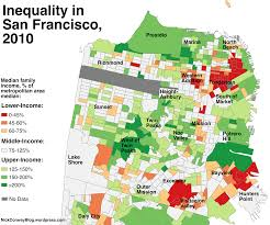 Map Of Boston Neighborhoods by A Map Of Which Sf Neighborhoods Became Richer Since 1990 Curbed Sf