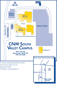 Unm Map South Valley Campus Map U2014 Central New Mexico Community College